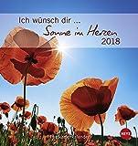 Ich wünsch dir Sonne im Herzen Postkartenkalender - Kalender 2018