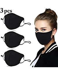 Fascigirl Mouth Mask Adjustable Anti Dust Cotton Face Mask for Cycling
