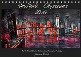 New York Cityscapes 2019 (Tischkalender 2019 DIN A5 quer): New York Cityscapes in Panoramaformat (Monatskalender, 14 Seiten ) (CALVENDO Kunst)