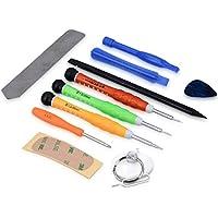 kwmobile 13en1: Juego de herramientas para smartphone Kit de herramientas de reparación multimedia para tablet y móvil