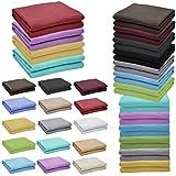 Nurtextil24 Flanell Bettlaken in 12 Farben & ...Vergleich