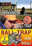 Lot 2 DVD Ball trap technique et stratégie fosse universelle & Ball trap Parcours de chasse et compak sporting