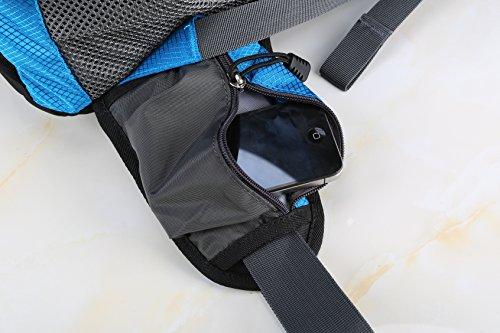 Diamond Candy Im Freien Wandern Klettern Rucksack Freizeit Ultraleichte Wasserdichte Outdoor Wanderrucksäcke Radfahren Reiten Reisetaschen, 50 x 32 x 15 cm, 40 Liter Darkblue