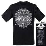 Dragonforce - T-Shirt Grey Shield T-Shirt (in S)
