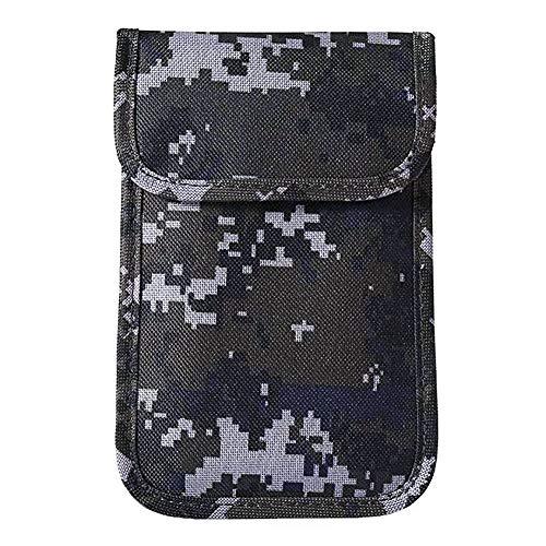 6inch Bolso del teléfono móvil, bolso anti de la señal del teléfono celular de la radiación, bolsa del bloqueador de la señal para las mujeres embarazadas