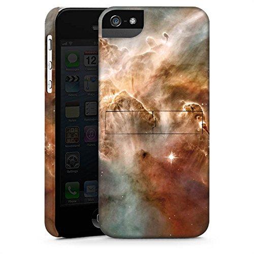 Apple iPhone X Silikon Hülle Case Schutzhülle Sterne Space Muster Premium Case StandUp