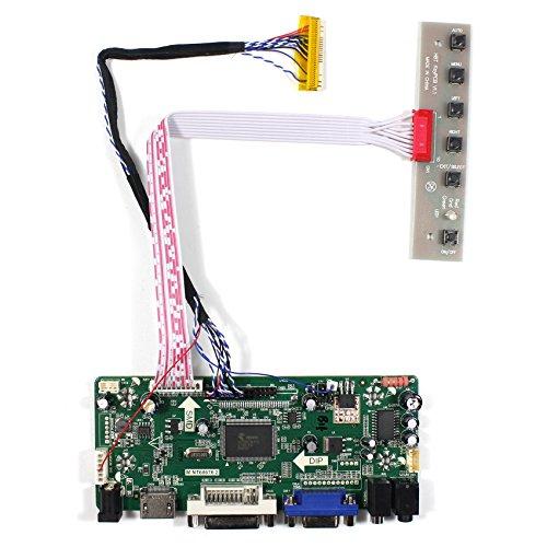 HDMI + VGA + DVI + Audio a cristalli liquidi Input Controller Board Per HSD100IFW1 CLAA089NA0ACW 10'8.9' del pannello LCD 1024x600 30Pins