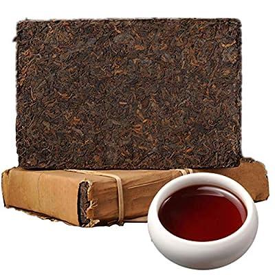 250g ?0,55LB? Fabriqué en Chine Thé Pu'er mûr Thé Pu'er vieux thé Puer thé noir cuit thé Pu-erh thé Pu erh thé chinois thé sain thé Puerh thé rouge