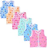 #2: First Step Baby Vest, Set of 6 (110- S, 0 months - 3 months)