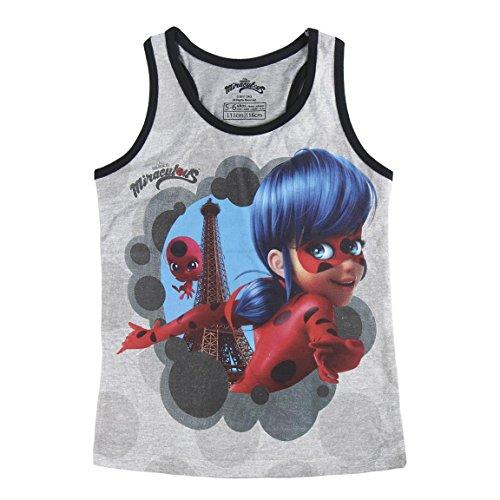 Preisvergleich Produktbild Miraculous,  die Geschichten von Ladybug und Chat Noir 2200002629 Mädchen T-Shirt,  Top,  Baumwolle (5 Jahre)