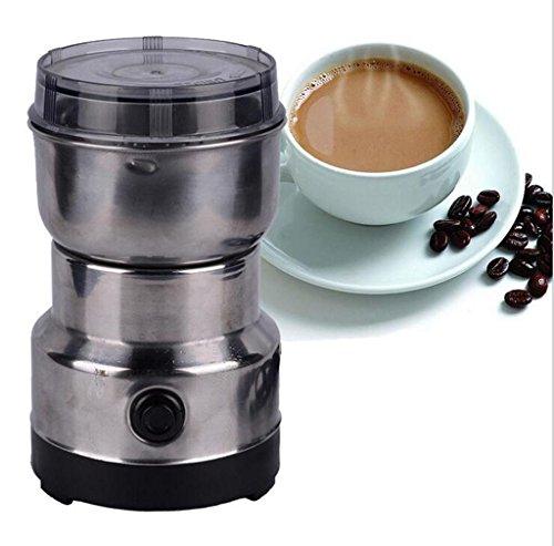 AN-LKYIQI Edelstahl Coffee Grinder Chinese Herbal Medicine Crusher Haushalt kommerzielle Dry Mill Schleifmaschine (Crusher Stahl)