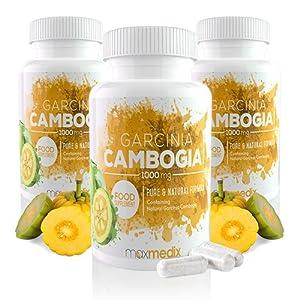 Garcinia Cambogia Pure Kapseln 1000mg – Multipack | Natürlicher Extrakt Aus Der Garcinia Frucht Zum Abnehmen – Effektiver Appetitzügler Und Fatburner Für Männer Und Frauen | Diätpillen (3)