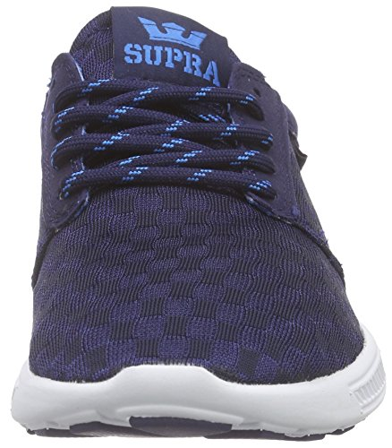 Supra Hammer Run, Sneakers Basses mixte adulte Bleu (NAVY - WHITE NVY)