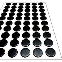 Autoadhesivo Imanes para manualidades - Magnético Lunares Círculos DISCO REDONDO - 12.5mm diámetro [1.5mm Grueso] 60 Paquete - Ligero manualidades actividades (The MAGNET SHOP )