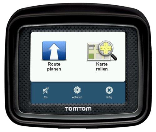 Bild 5: TomTom Urban Rider Central Europe Motorrad-Navigationssystem (8,9 cm (3,5 Zoll) Display, IQ Routes, Fahrspurassistent) mattschwarz