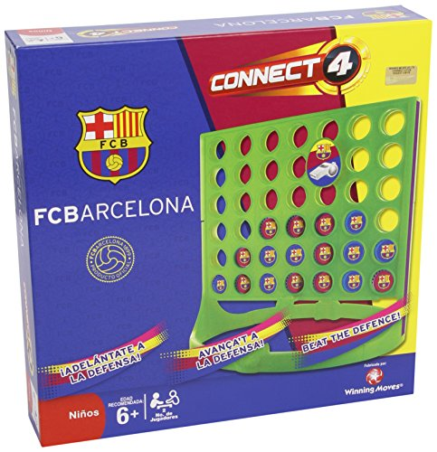 F.C. Barcelona - Conecta 4, juego de mesa (Eleven Force 82097)