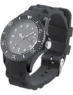 ST. Leonhard nc7160–944–Armbanduhr, Armband Silikon Farbe schwarz