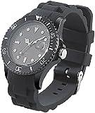 St. Leonhard Unisex Uhr Analog Quarzwerk mit Silikon Armband W209U