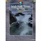 Irish Folk Tunes–arrangés pour Viola–avec CD [Notes/sheetm usic] de la gamme: Écosse World Music