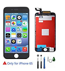 Screen Replacement For Iphone 6s Lcd Touch Screen Digitizer Full Display Assembly Touch Screen With 3d Touch For Iphone 6s Lcd 4.7 Inch Black