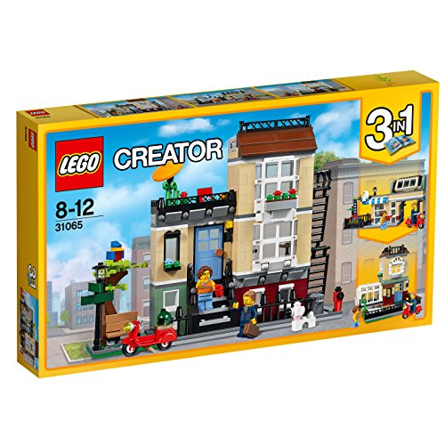 Lego Park Street Townhouse, Multi Color