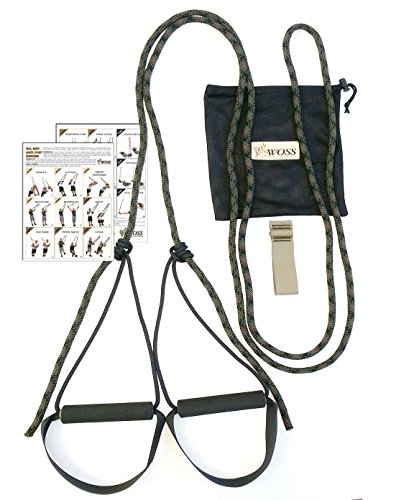 WOSS ROPE Trainer, mit Türanker, Made in USA