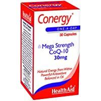 HEALTHAID Conergy Coq10 Capsules 30, 117 g preisvergleich bei billige-tabletten.eu