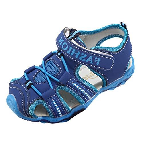chfeste Kinder Sandalen Trekking Wandern Sandalen Closed Toe Athletisch Sommer Klettverschluss Schuhe für Strand (Little Kid/Big Kid) ()