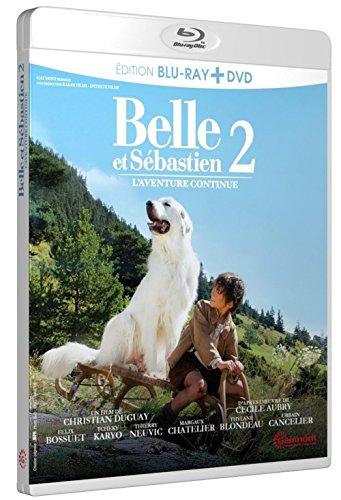 Belle et Sébastien, l'aventure continue [Combo Blu-ray + DVD] [Combo Blu-ray + DVD]