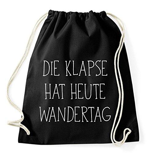 Über 40 Sprüche & Designs auswählbar / Sambosa Turnbeutel mit Spruch / Beutel: Schwarz / Rucksack / Jutebeutel / Sportbeutel / Hipster
