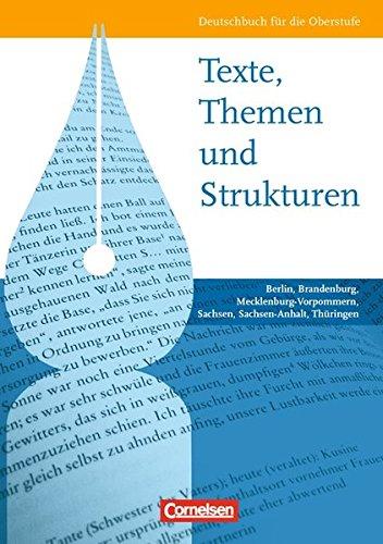 Texte, Themen und Strukturen. Schülerbuch.,