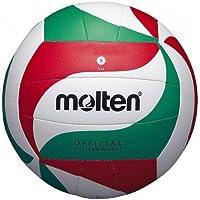 MOLTEN Pelota de voleibol (sintética, cosida a mano), color blanco