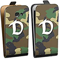 Samsung Galaxy A5 (2017) Tasche Hülle Flip Case Sg Dynamo Dresden Tarnmuster Camouflage