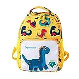 AMUSTER Sac à dos fille garçon enfant dessin animé dinosaure animal sac à dos sac pour tout-petitst école sacs (I)