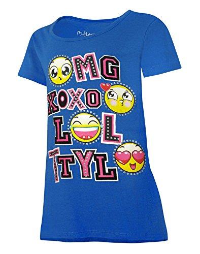 Hanes Mädchen T-Shirt, K295 - Hanes Kinder T-shirt