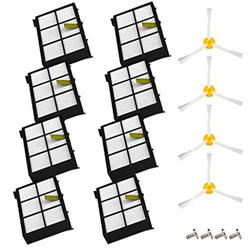 LCLrute Bürsten-Filter für iRobot Roomba 800/900 Serie 805 850 860 800 861 866 871 985 Langlebig Und Einfach Zu Installieren; Cleaner Robot Staubsauger Ersatzteile
