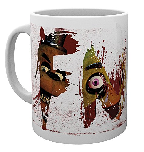 GB eye Ltd Five Nights At Freddys, Letters, Mug, Various