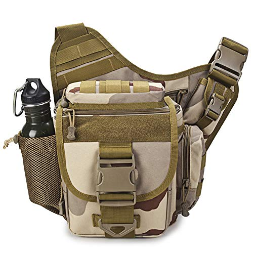 Ericcay Outdoor Satteltasche SLR Kameratasche Multifunktionale Single Shoulder Wasserdicht Rucksack Stilvolle Unikat Camouflage (Color : A, Size : One Size)