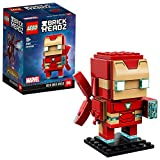 #9: Lego 41604 Iron Man MK50 BrickHeadz Disney Marvel