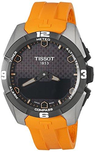Tissot Homme Swiss décontracté montre à quartz Titane (modèle: T0914204705101)