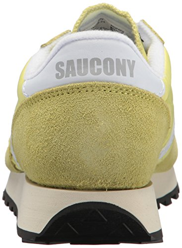 Saucony Jazz Original Vintage, Sneaker Donna Giallo/ Bianco
