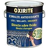 Xylazel oxirite - Esmalte metal 4l negro