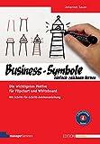 Business-Symbole einfach zeichnen lernen. Die wichtigsten Motive für Flipchart und Whiteboard. Mit Schritt-für-Schritt-Zeichenanleitung