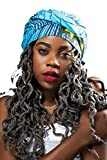 "Best Home Fashion 72 Longs - African Head Wraps Extra Long 72""x22"" African Wax Review"