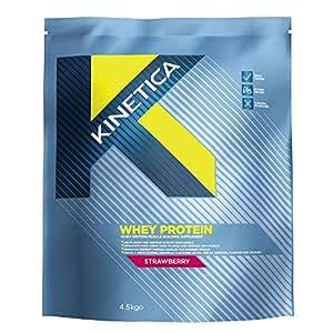 Kinetica Whey Protein Strawberry Powder 4.5Kg