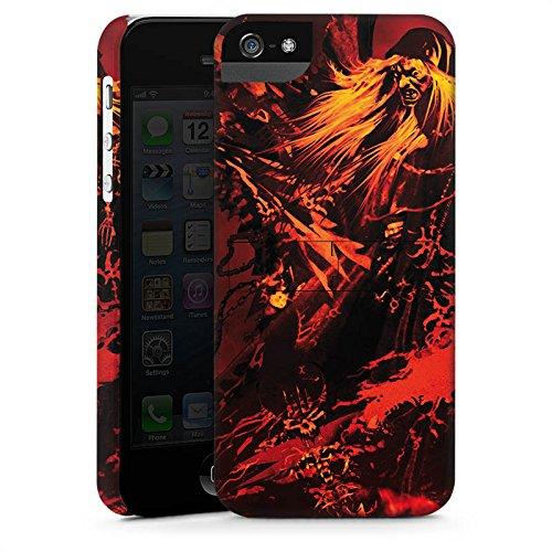 Apple iPhone X Silikon Hülle Case Schutzhülle Doro Feuer Blitz Premium Case StandUp