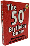 The 50th Birthday Game - amusing gift idea or party fun ice breaker for especially for people turning fifty.