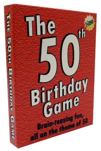 The 50th Birthday Game - amusing gift idea or party fun!