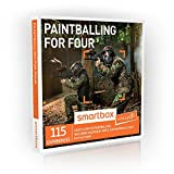 Buyagift Paintballing for Four Gift Experiences - A thrilling paintballing experience with 115 locations to choose from
