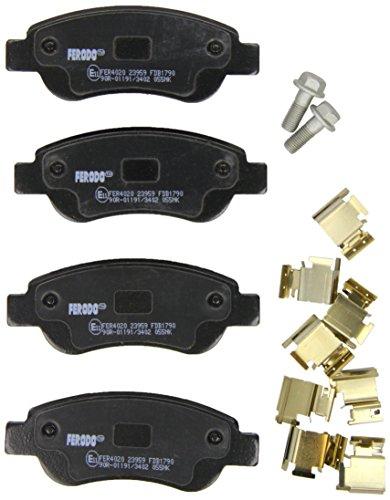 Ferodo FDB1790 -  Premier Kit Pastiglie Freno, Freno A Disco - (confezione 4 pezzi)